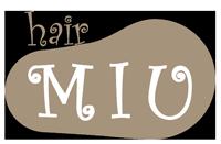 守山区の美容室 Hair MIU Blog Retina Logo