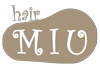守山区の美容室 Hair MIU Blog Mobile Logo